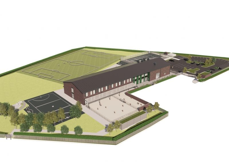 CGI of the Kingsbrook View Academy