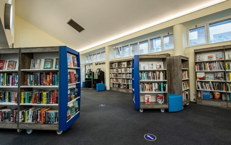 Marlow Library main library area