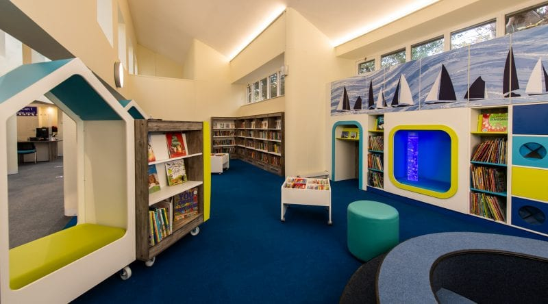 Marlow library Childrens area