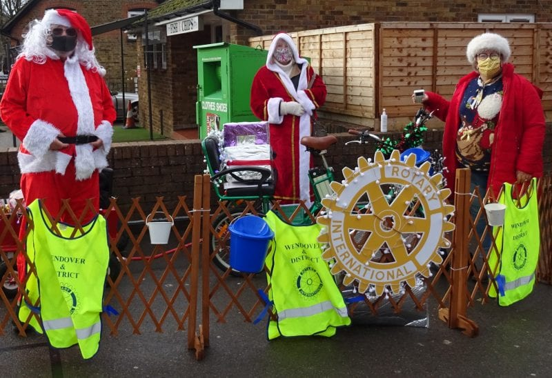 Collecting at Tesco Express in Tring Road
