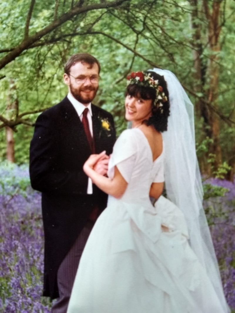 Wedding day, 1996
