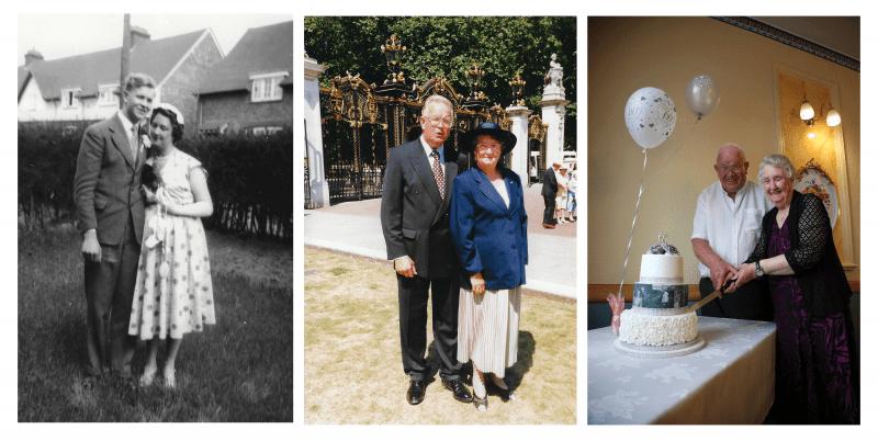 Marlene with husband John
