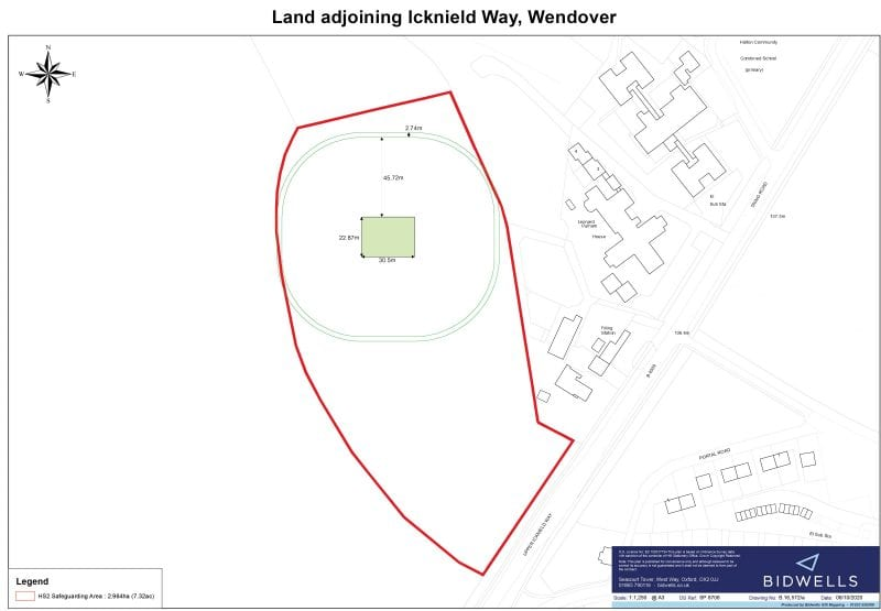 The proposed location for the new ground