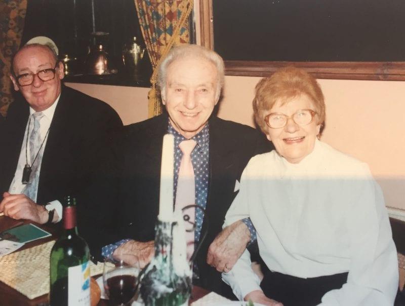John Junkin, Sir Stanley Matthews, Red Lion barmaid Dolly Savile