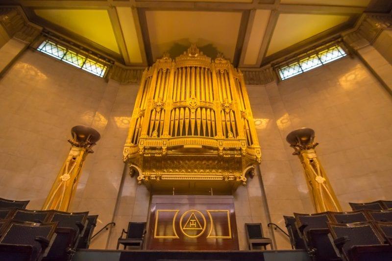 The Temple Organ