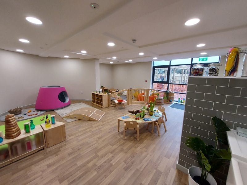 The nursery interior