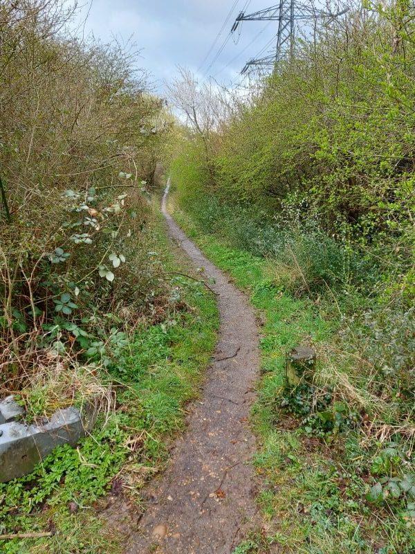 Bridleway Wen 57 at Bacombe Lane