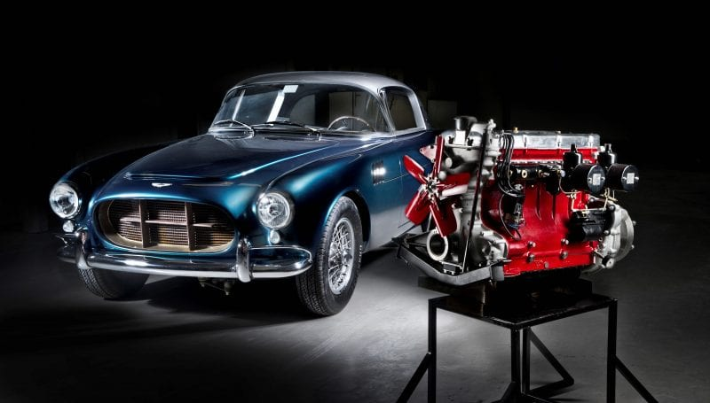DB3S Coupe - David Brown's personal car