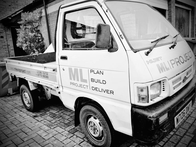 The MLProject's Japanese mini truck