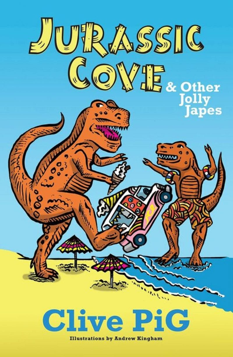 Cover of Jurassic Cove by Clive PiG