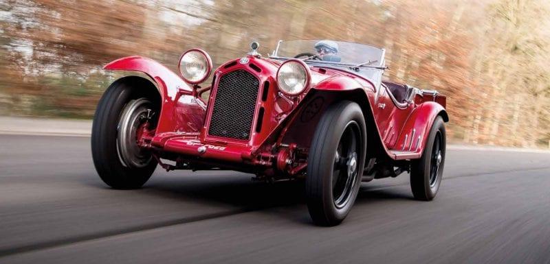 1931 Alfa Romeo 8C Spider by Zagato (photo credit: Jamie Lipman)