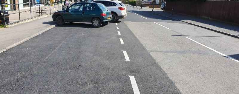 An example of road repair using Plane and Patch