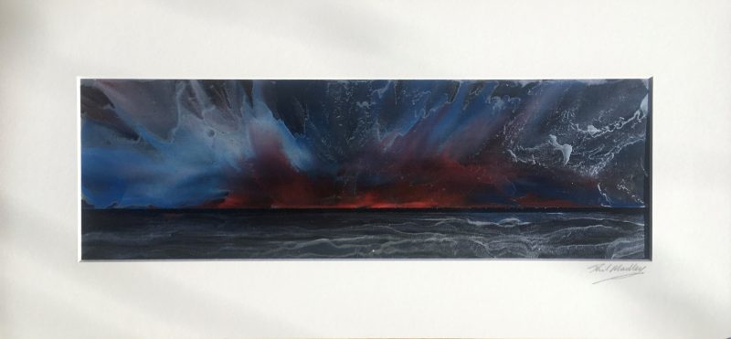 'Encaustic Fire' by Phil Madley