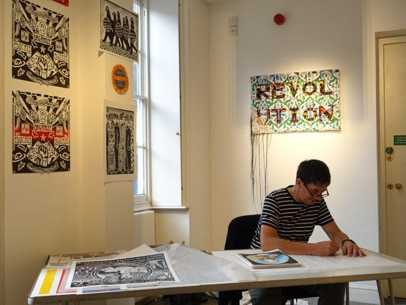 James Fox, artist in residence 2017